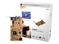 Club 3D ZAP-TV2202 - DVB-T receiver / analogue TV tuner / video input adapter - PCI low profile-0
