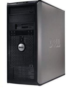 Calculator second hand Core 2 Duo, E6300 1,86GHz, Dell Optiplex 745, 2 GB, HDD 80 GB-0