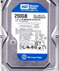 Hard Disc WD SATA 250GB 7200RPM 3GB/S 8MB, WD2500AAJS-0