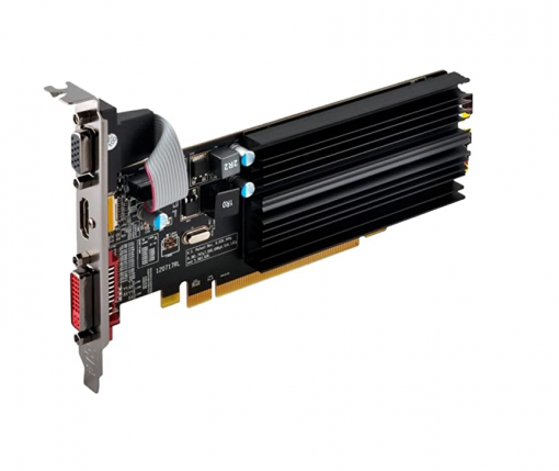Placa video XFX AMD Radeon HD 5450 1GB GDDR3 VGA/DVI/HDMI Low-Profile